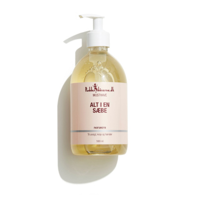 Pudderdåserne All in one Soap 500 ml