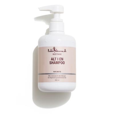 Pudderdåserne Alt I en Shampoo 500 ml