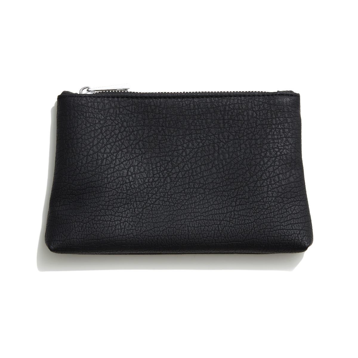 Faux Leather Beauty Bag - Medium (5711914166977)